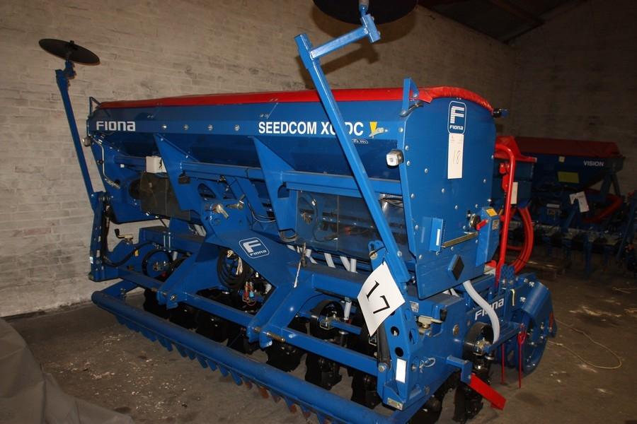 Fiona Seedcom XC DC, 3,00 m såsæt med skær og tromle, type Seedcom SM, type Orion XR 3,0, SN ...