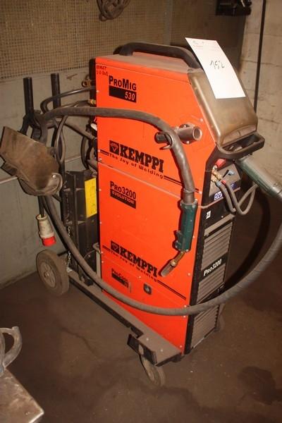 Co2 Welder  Kemppi Pro Evolution 3200   Wire Feed Unit