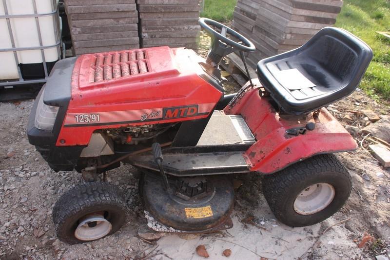 Mtd Garden Tractor Gardens Design Ideas