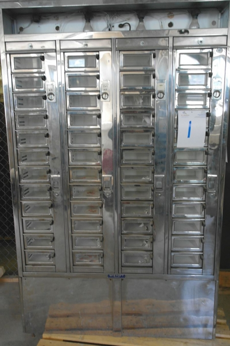 Gammeldags mønt automat