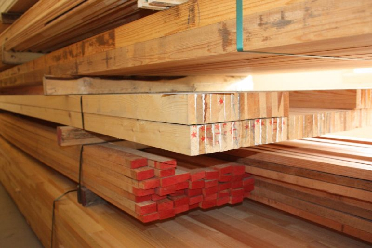 Laminated wood trusses mm pieces meters