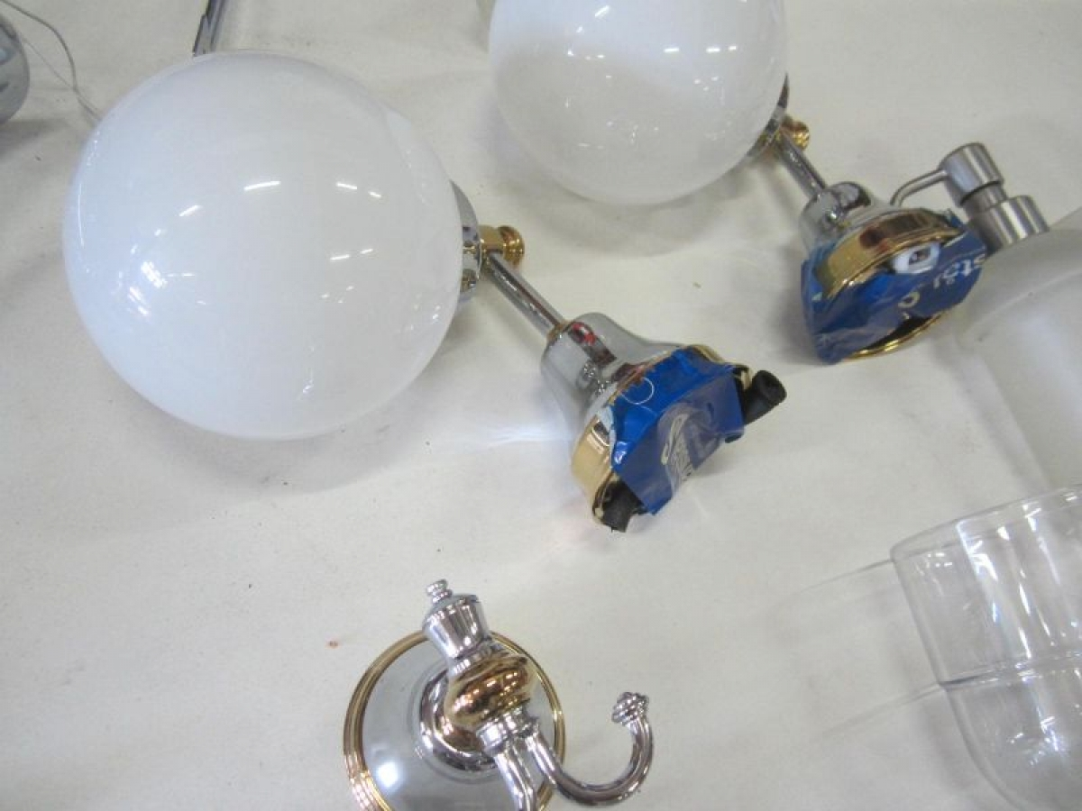 Armatur, lamper og badeværelsesudstyr, se fotos - KJ Auktion ...