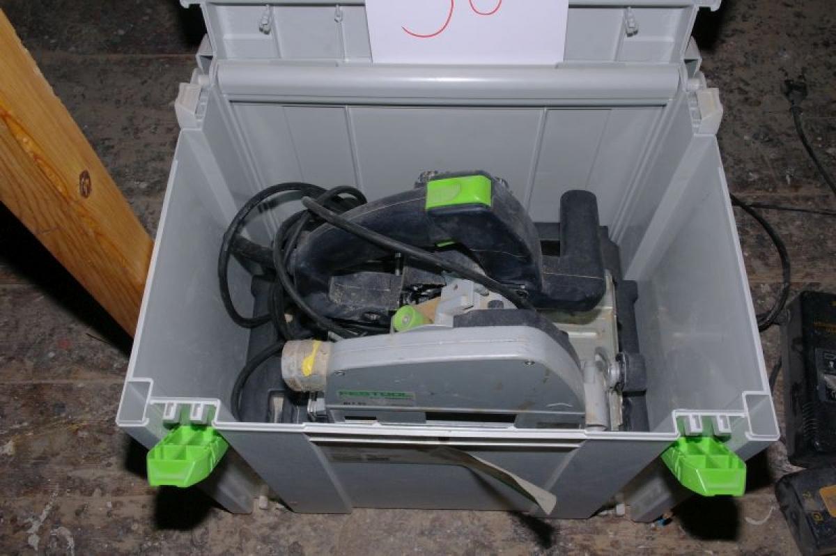 circular saw, festool ts 55 ebq-plus (defective) - kj auktion