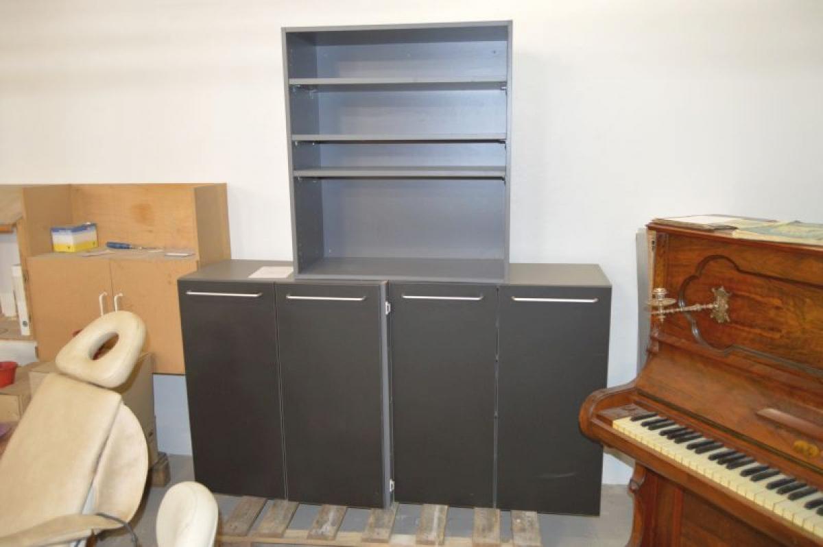 2x b cherregal mit t ren bxtxh ca 80 x 41 x 90 cm. Black Bedroom Furniture Sets. Home Design Ideas