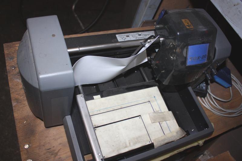 Digital gravørmaskine, EGX-20 Desktop Engraver - KJ Auktion - Maskinauktioner