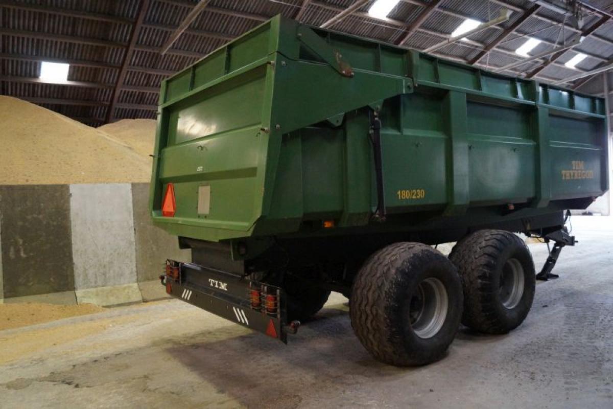 Tipvogn Tim 8/23 23 kubikmeter, 18 tons - KJ Auktion - Maskinauktioner