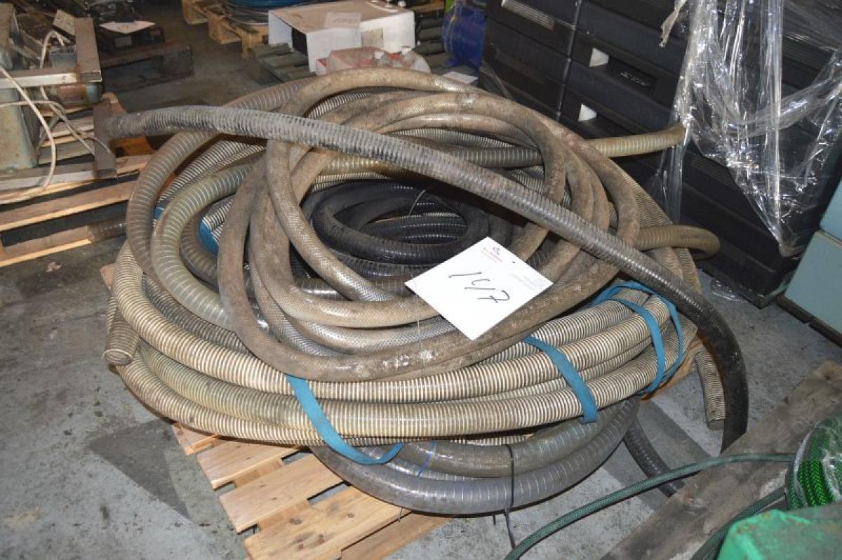 Palle med flexslange + armeret slange - KJ Auktion - Maskinauktioner
