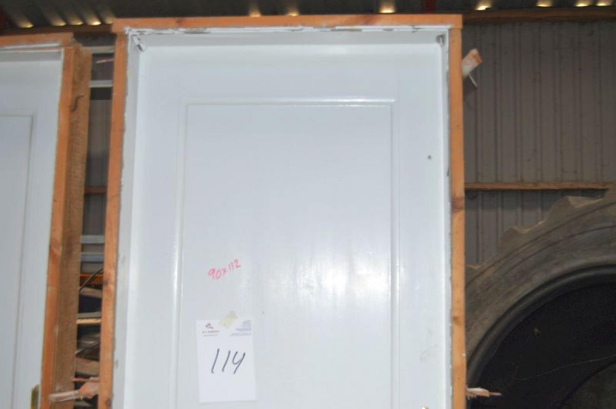 Innentür, Rahmen Maße ca. 90 x 212 cm - KJ Auktion - Maschinen-Auktionen