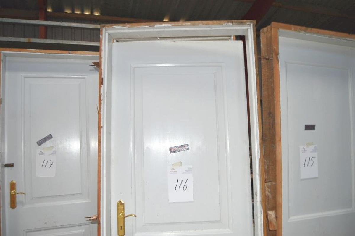 Innentür, Rahmen Maße ca. 82 x 215 cm - KJ Auktion - Maschinen-Auktionen