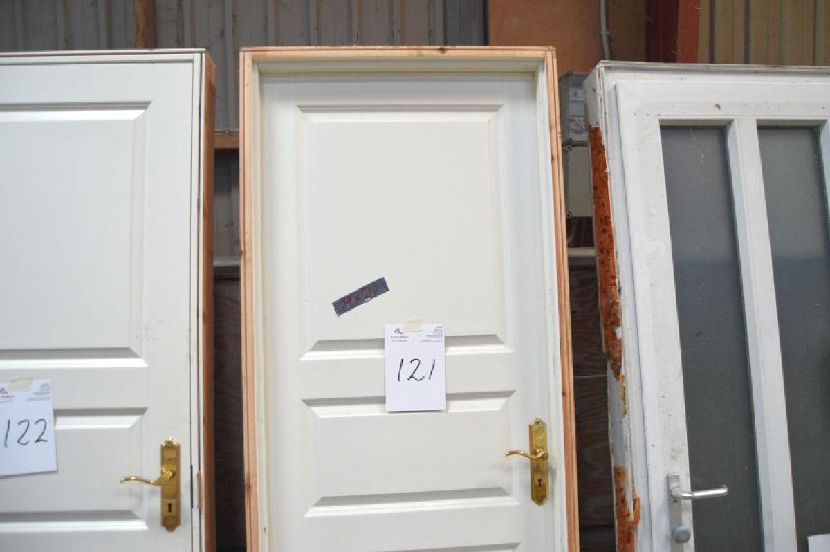 Innentür, Rahmen Maße ca. 79 x 210 cm - KJ Auktion - Maschinen-Auktionen