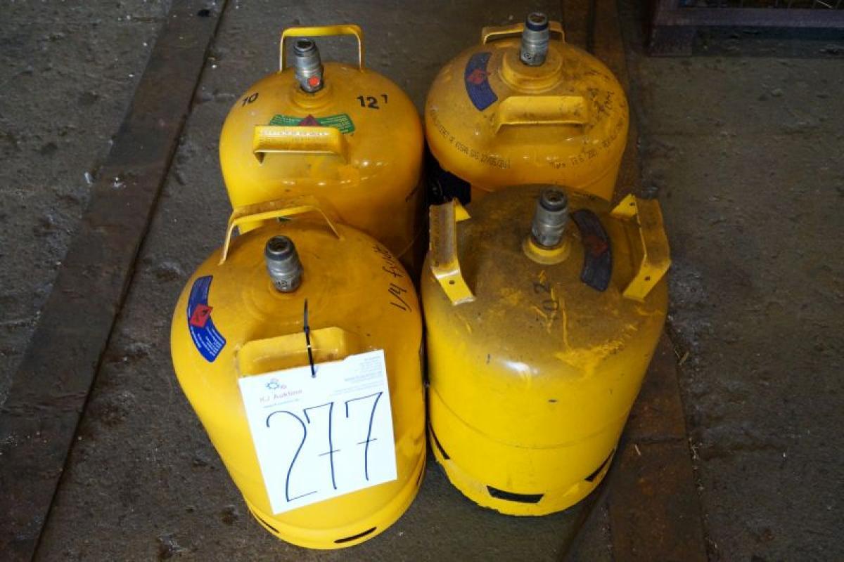 11 Kg Empty Gas Cylinders