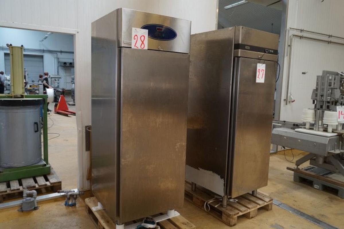 Kühl- / Gefrierschrank, Edelstahl, mrk. Electrolux, Modell C06FD ...