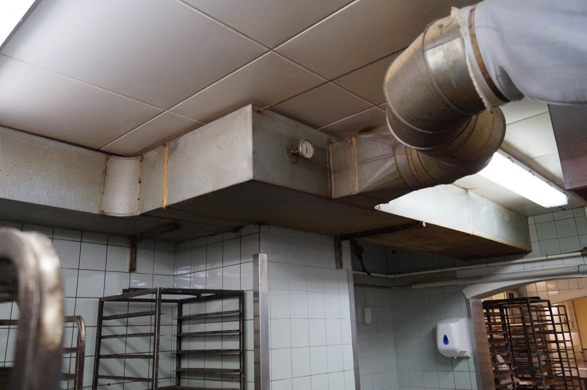 glenco abgasanlage, komplett für die extraktion von maschinen und