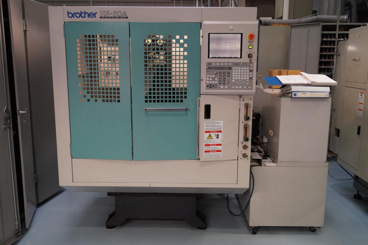 CNC Funken Draht Erodier Maschine EDM Brother HS 50A Baujahr 2000 ...