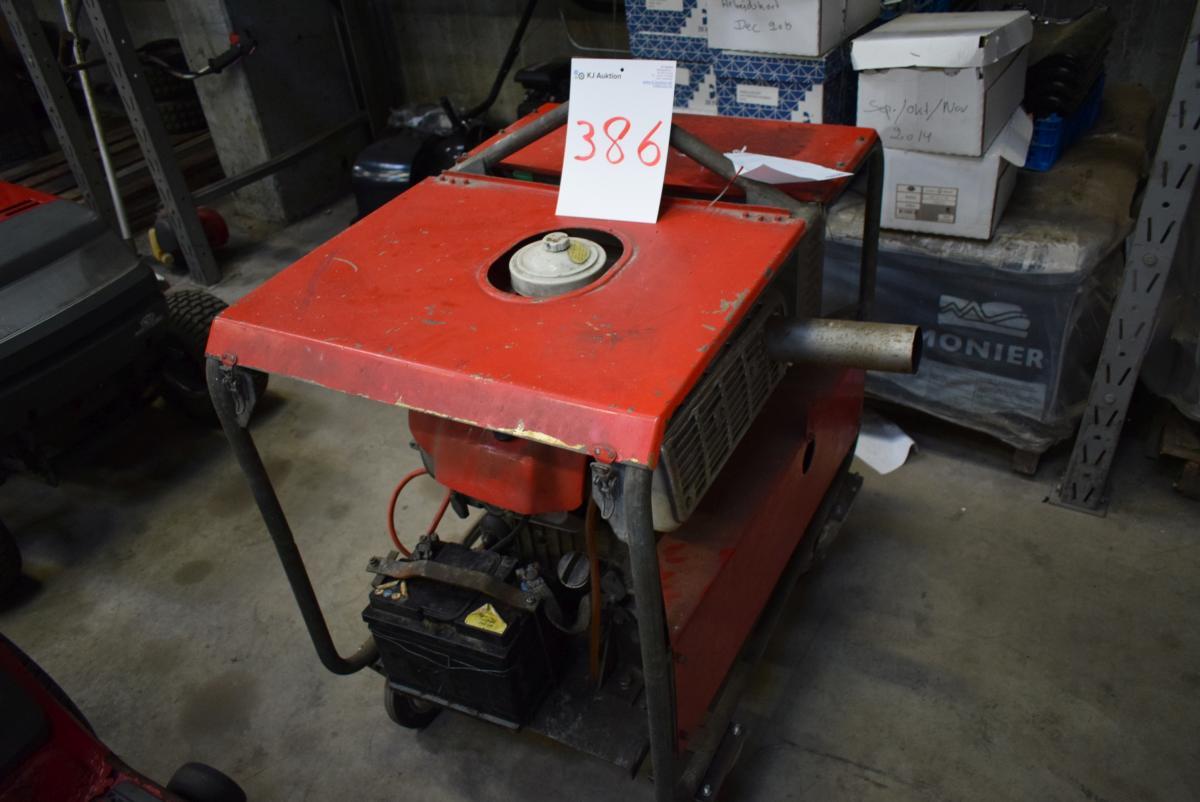 honda diesel generator. Generator With 2-cylinder Honda Diesel Engine A