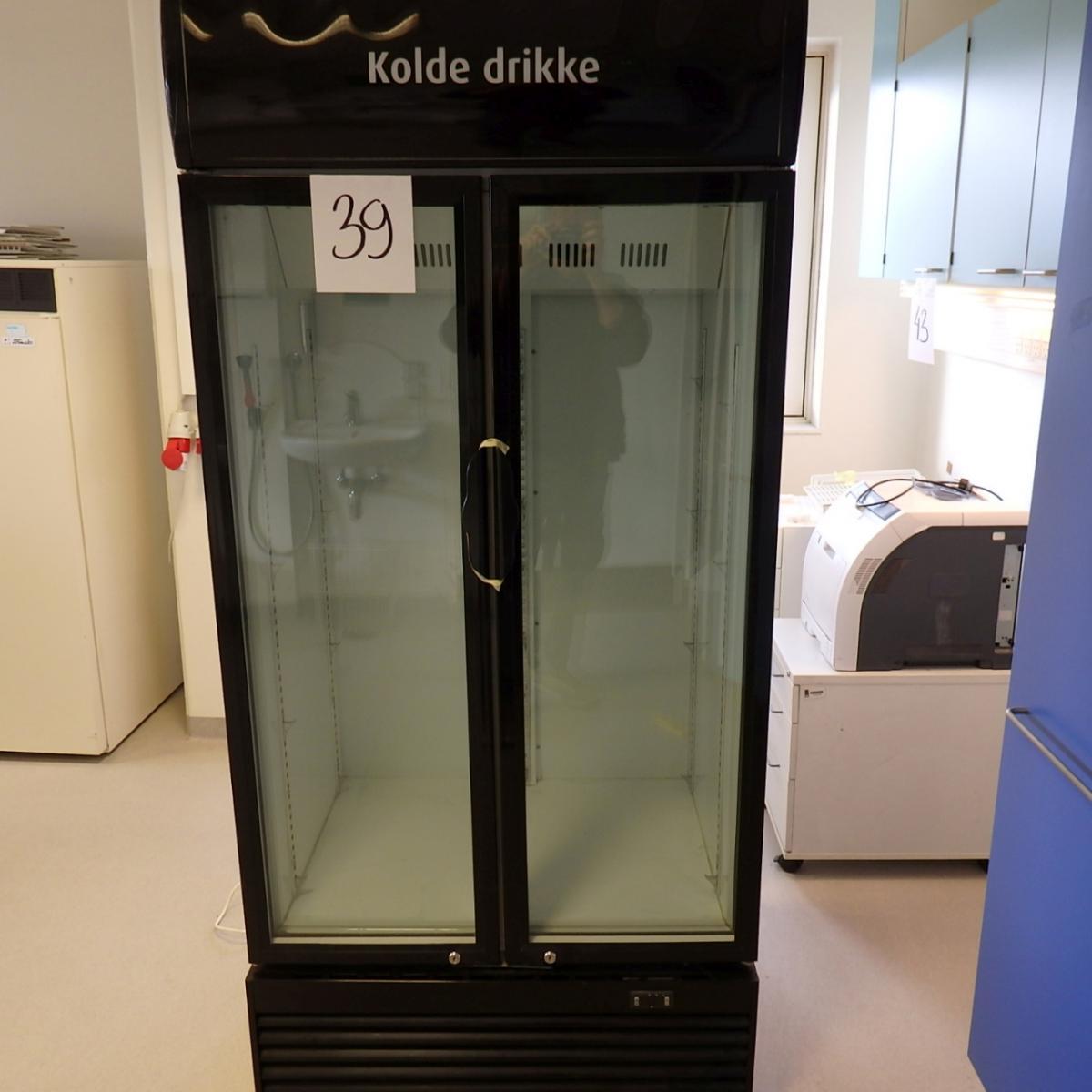 Kühlschrank - kalte Getränke - der Verkäufer sagt, dass \