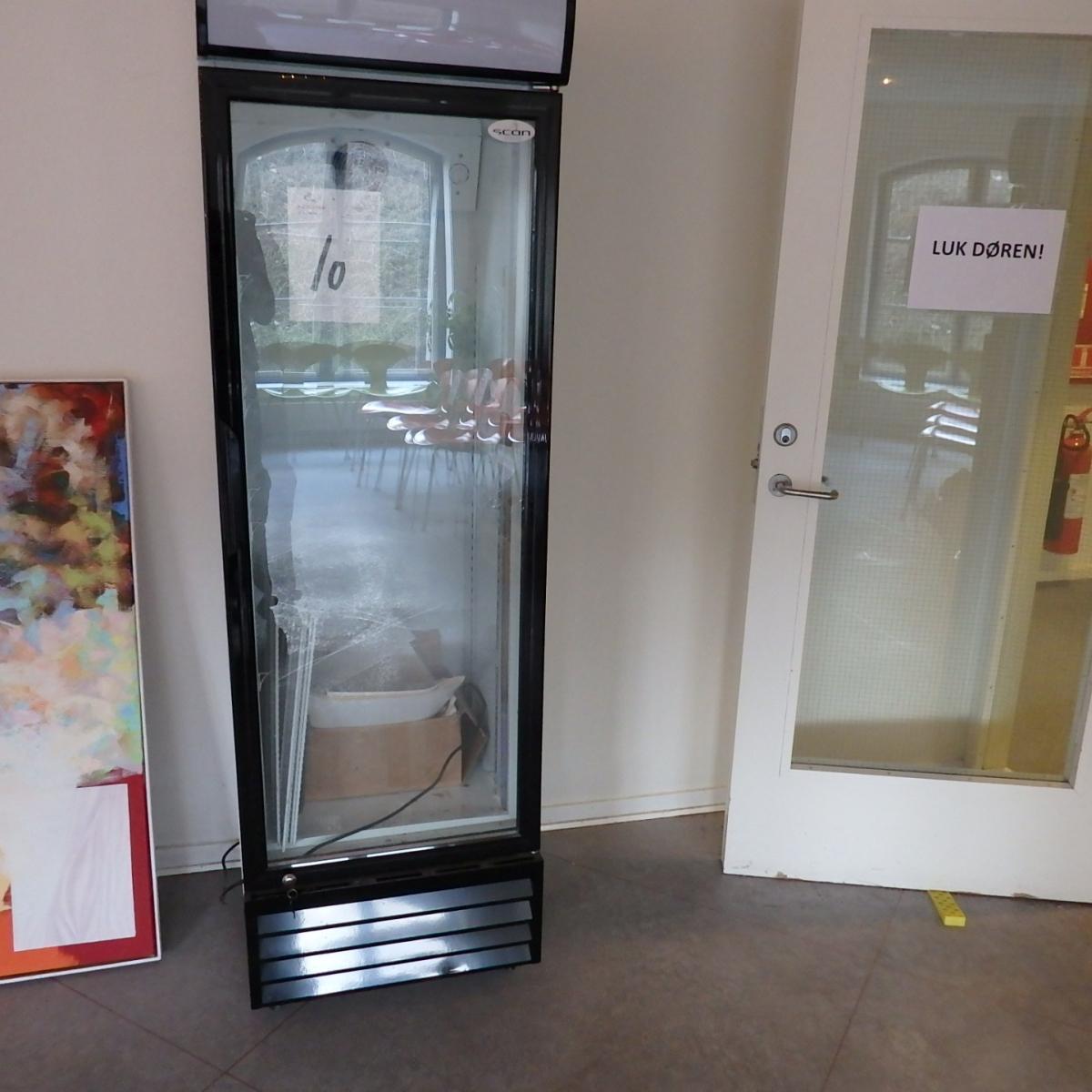 Kühlschrank mit Glastür SCAN COOL 200 x 60 x 60 cm - KJ Auktion ...