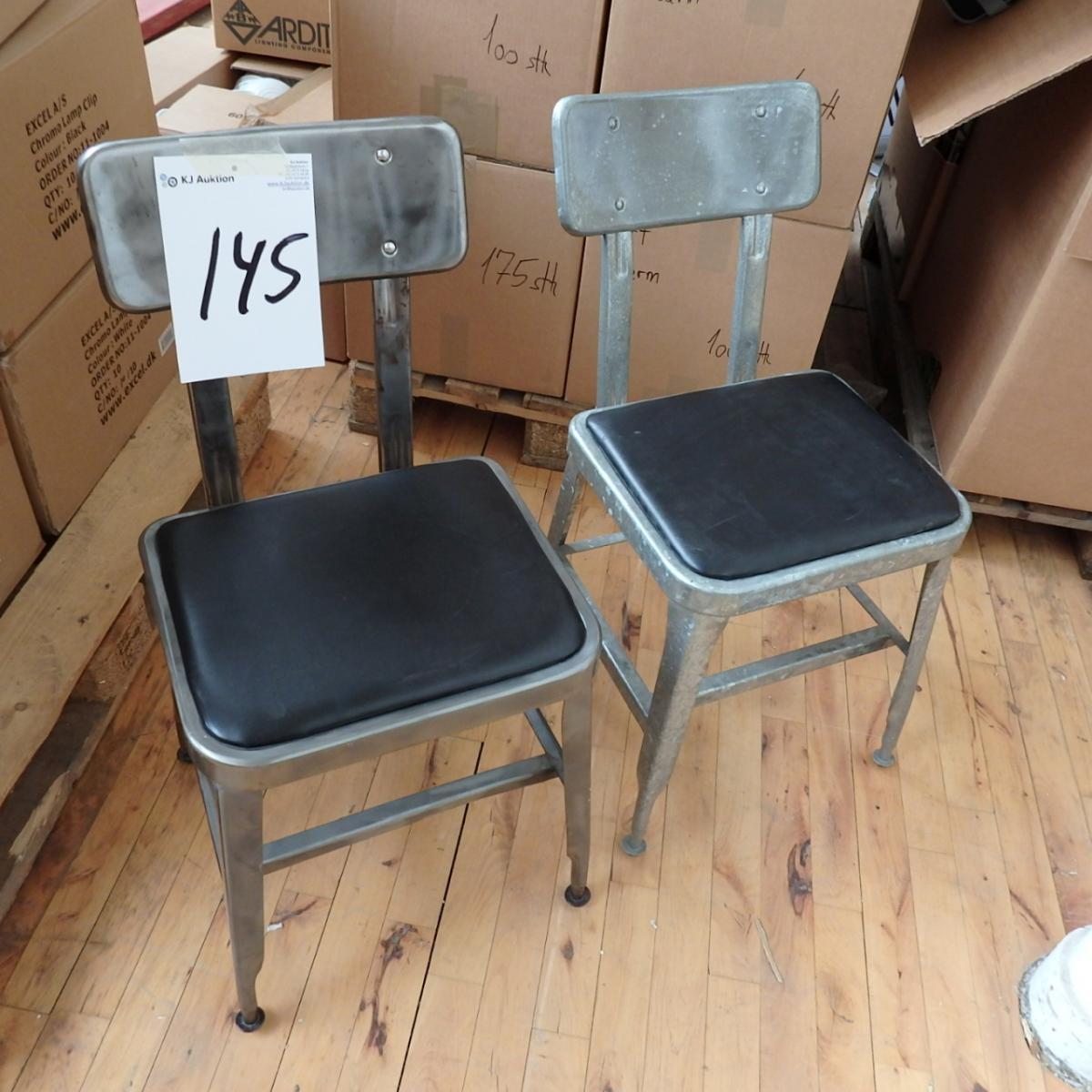 retro stole 2 retro stole fin stand   KJ Auktion   Maskinauktioner retro stole