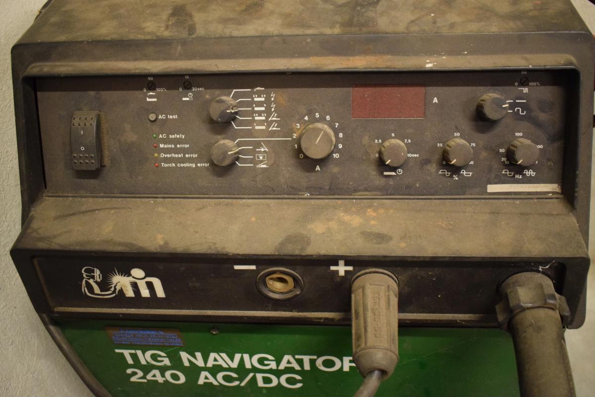 TIG Svejser 240 AC/DC, mrk. Migatronic - KJ Auktion - Maskinauktioner