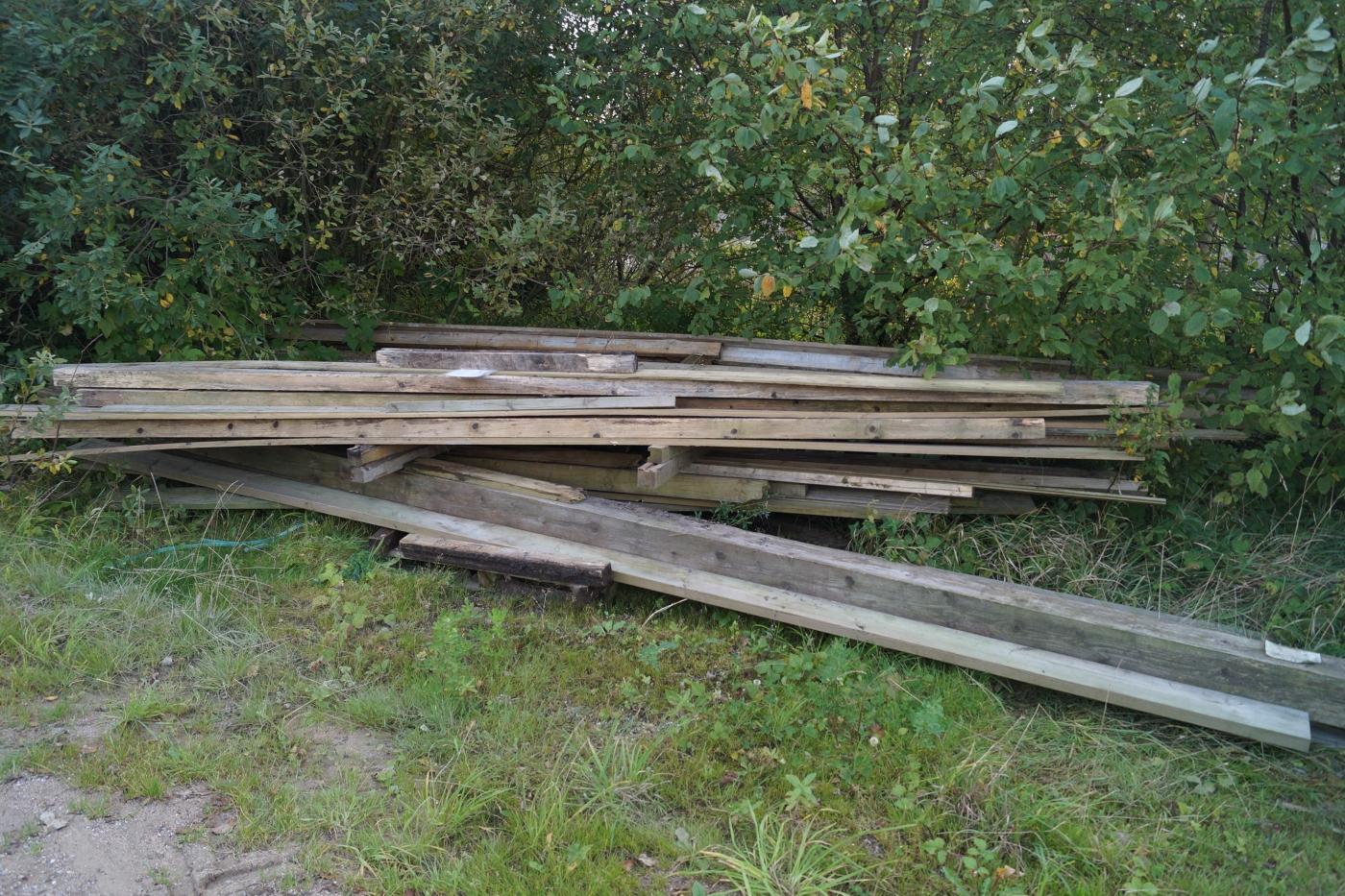 Diverse tømmer brugt. - KJ Auktion - Maskinauktioner