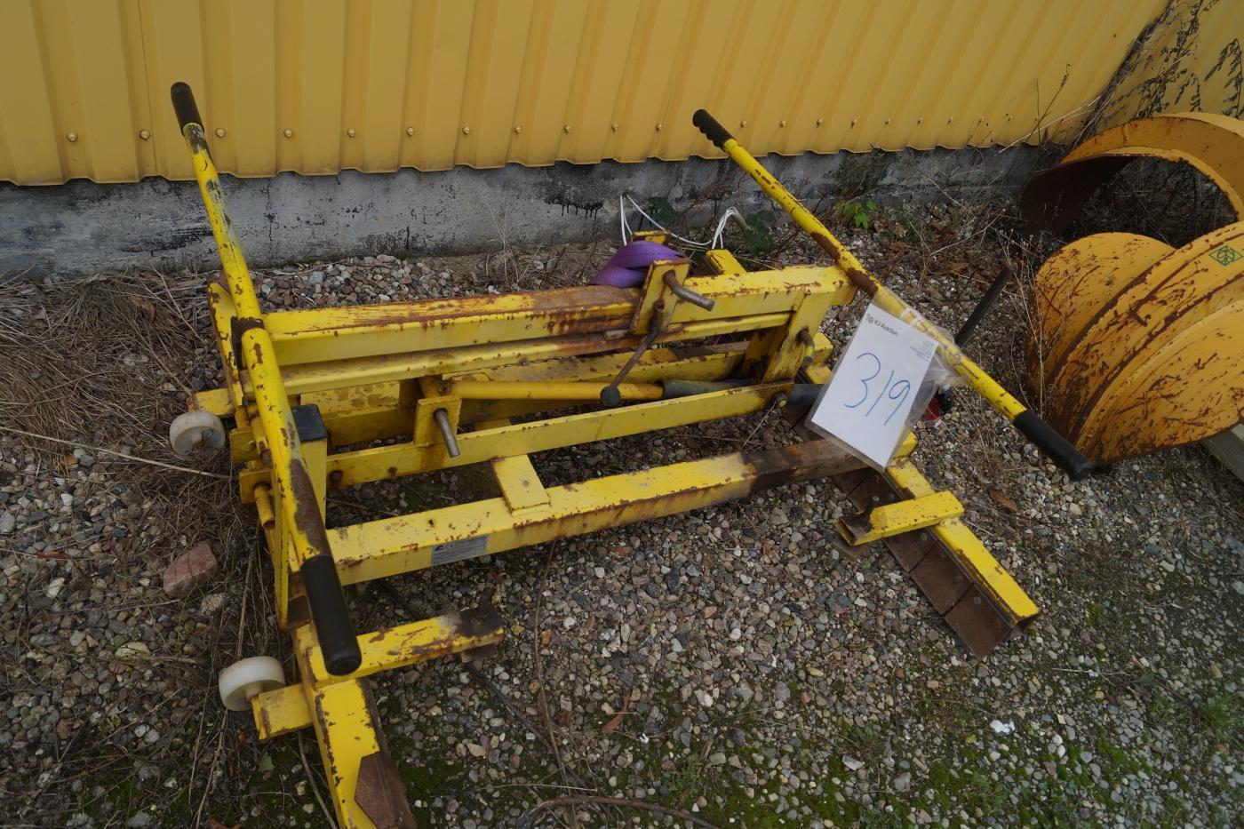 Belægningstang til store enheder Minigraver. TC48.2 - KJ Auktion - Maskinauktioner