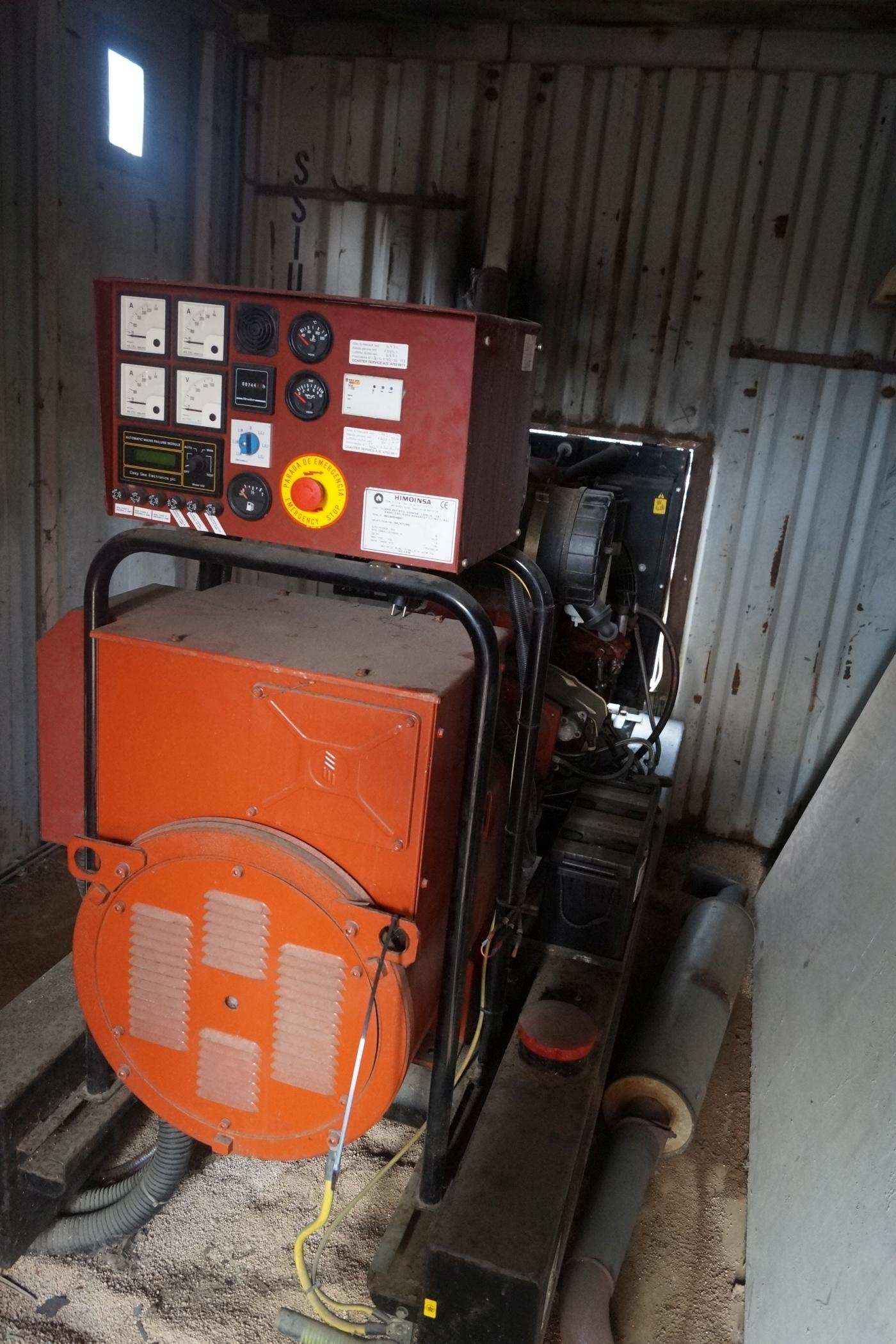Container with large sel generator HIMOINSA 744 arb Timer 100