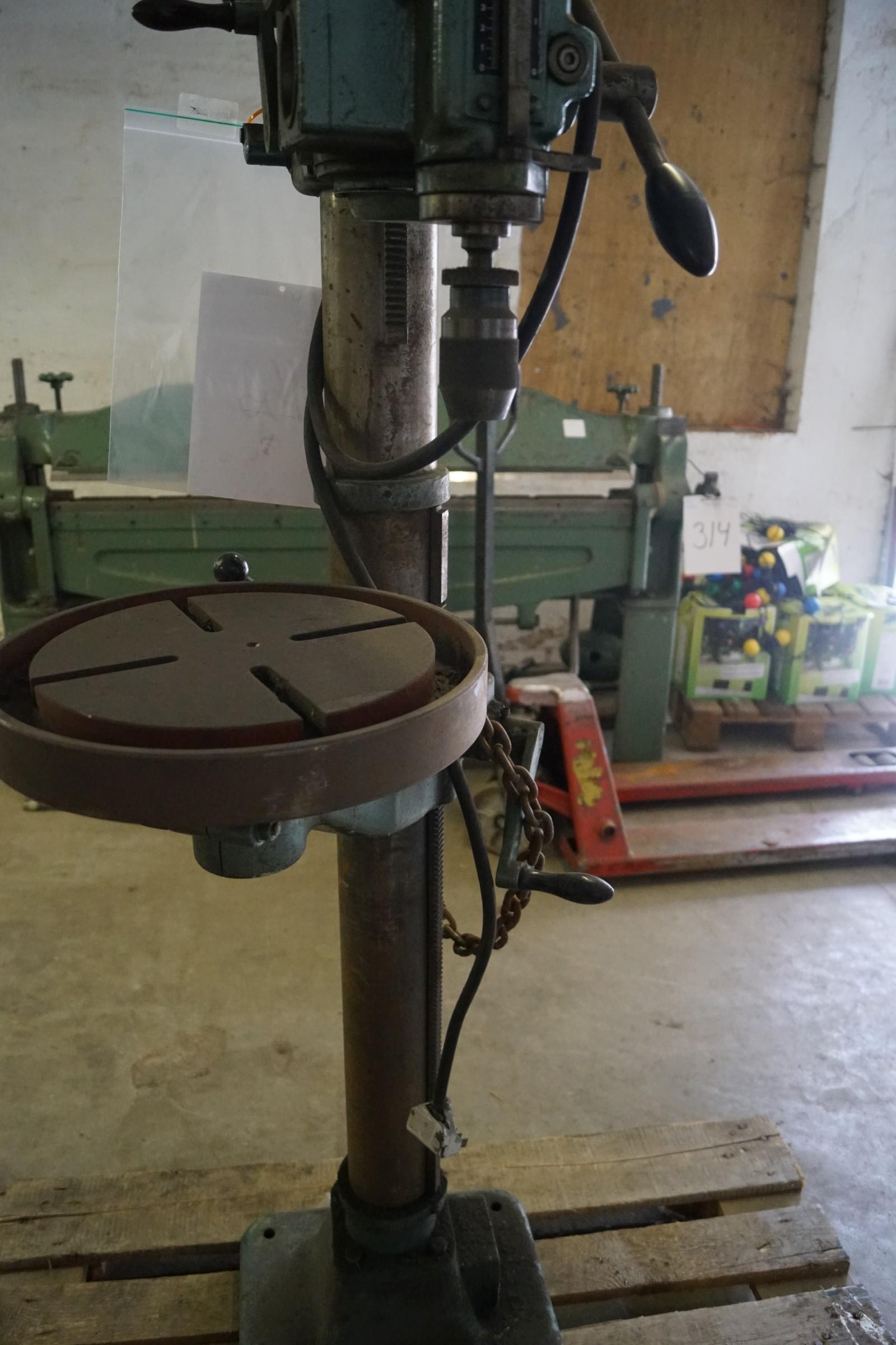 Søjleboremaskine Arboga maskiner - KJ Auktion - Maskinauktioner