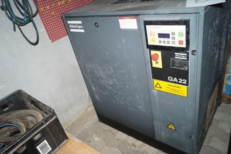 Atlas copco kompressor Ga22 100x77x115 cm
