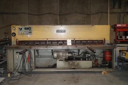 Darley maskinsaks. Nr.: 0011-15. Emnebredde: ca. 320 cm.