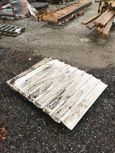 Hvide trapezplader