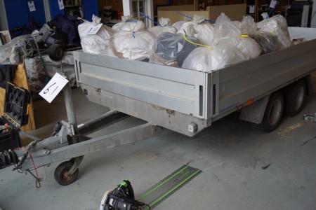 Variant trailer mærke Reg nr. AU3778 180x320 cm