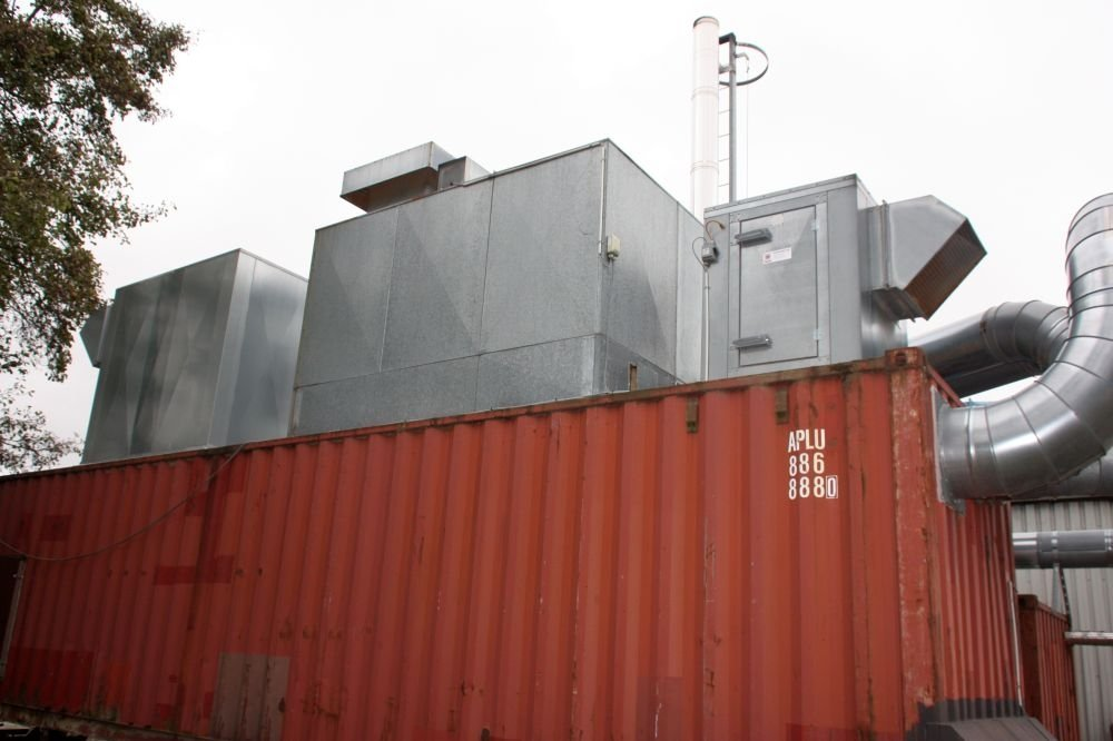Dust Extractor And Filter System Year 2008 40 Quot Container