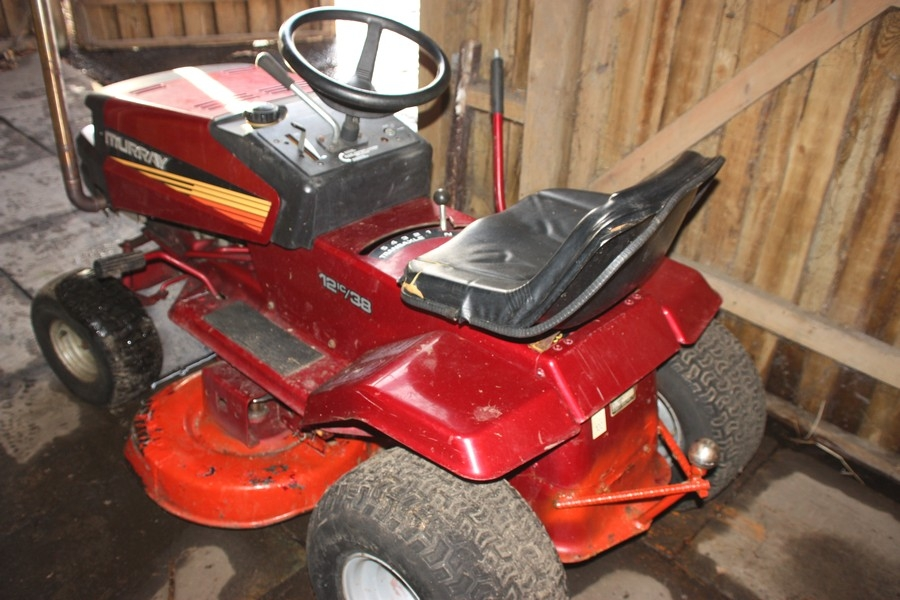 Murray Lawn Mowers Battery : Lawn mower murray hp c b newer